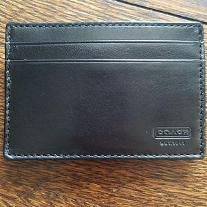 Men's Coach money clup/card holder